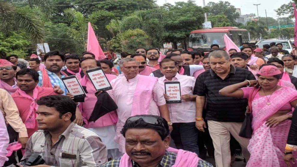 Politics:सीएम रमन सिंह को काला झंडा दिखाने पहुंचे मरवाही विधायक अमित जोगी समर्थकों सहित गिरफ्तार